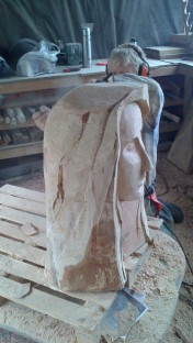 Sculpture by student