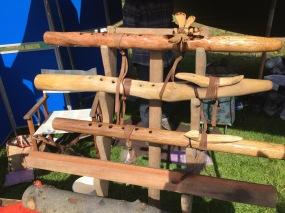 Flutes made at workshop